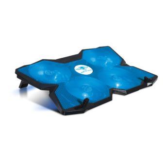 "Refroidisseur portable Spirit Of Gamer AirBlade 500 17.3"" Bleu"