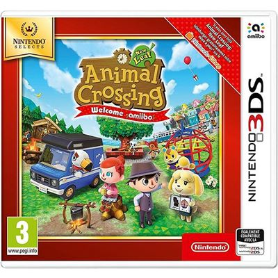 Animal Crossing New Leaf Welcome Amiibo Nintendo 3DS Selects