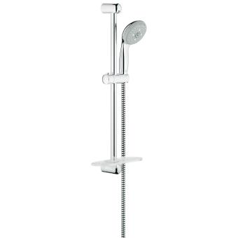 ensemble de douche 4 jets grohe tempesta 100 28593001 robinetterie achat prix fnac. Black Bedroom Furniture Sets. Home Design Ideas