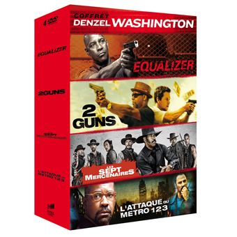 Coffret Denzel Washington DVD