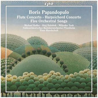 Concertos pour flûte et pour clavecin Mélodies avec orchestre