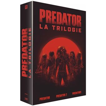 PredatorCoffret Predator La Trilogie DVD