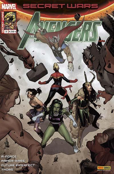 Secret Wars - Tome 3 : Avengers