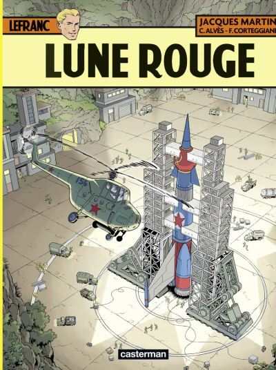 Lefranc (Tome 30) - Lune Rouge - 9782203199514 - 8,99 €