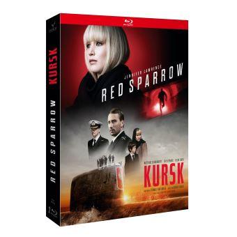 Coffret Red Sparrow : Le Moineau Rouge et Kursk Blu-ray