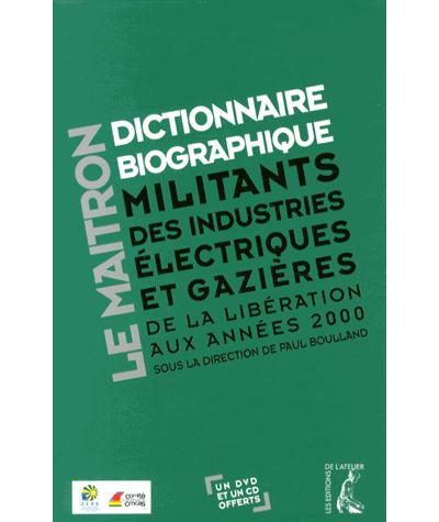 Dictionnaire biographique des gaziers electriciens