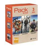 Pack Fnac 3 jeux Action 1 PS4 Just Cause 3 + Tom Clancy's The Division + Watch Dogs 2 Deluxe