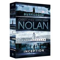 Coffret Inception Interstellar Dunkerque DVD
