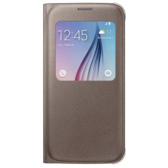 SAMSUNG FLAT S-VIEW COVER GALAXY S6 GOLD