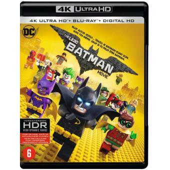 Lego Batman Movie-Bluray 4K UHD- Nl/Fr