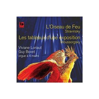 L'oiseau de feu Les tableaux d'une exposition