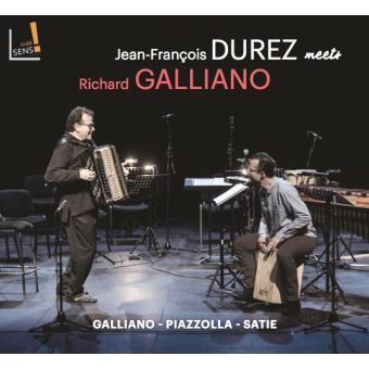 Jean François Durez meets Richard Galliano Digipack