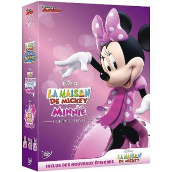 La Maison de MickeyCoffret La Maison de Mickey DVD