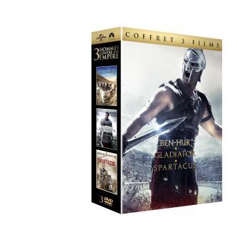 Coffret Péplum DVD
