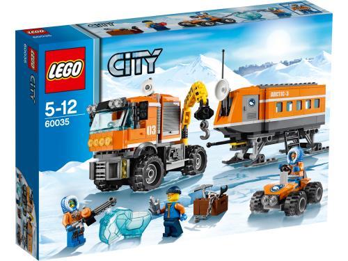 LEGO® City 60035 La base arctique mobile