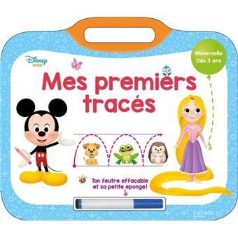 DISNEYDisney Baby - Mes premiers tracés Disney (Dès 3 ans)