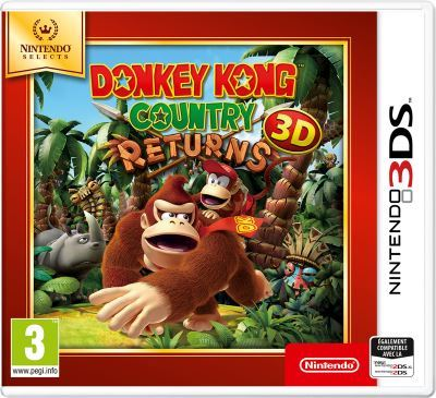Donkey Kong Country Returns Nintendo 3DS Selects