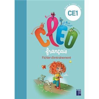 Fichier D Entrainement Francais Ce1 Aide Memoire Programme 2018