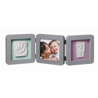 kit de moulage et d empreintes my baby touch baby art cadre 3 volets gris produits b b s fnac. Black Bedroom Furniture Sets. Home Design Ideas