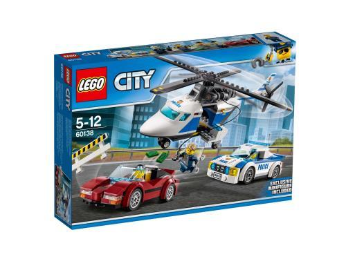 LEGO 60138 La course poursuite en helicoptere