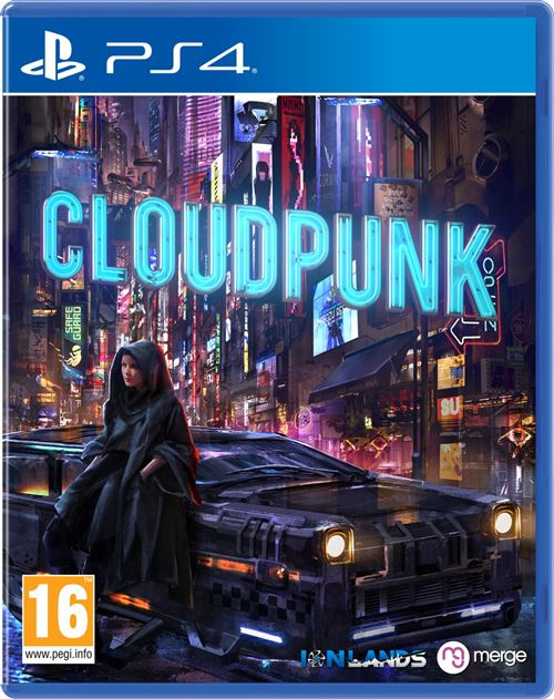 Cloudpunk PS4