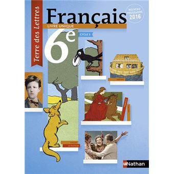 Terre Des Lettres Francais 6eme 2016 Manuel Eleve Grand Format