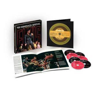Elvis : '68 Comeback Special : 50th Anniversary Edition Coffret Inclus 2 Blu-ray et un livre de 84 pages