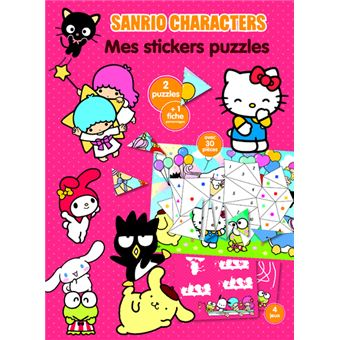 Sanrio Characters - Mes stickers puzzles