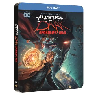 Justice leagueJustice League Dark Apokolips War Steelbook Blu-ray