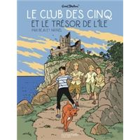 Le club des Cinq et le trésor de l'île