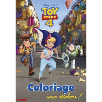 Toy Story Disney Toy Story 4 Coloriage Avec Stickers
