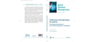 L'education therapeutique du patient sante decision manageme