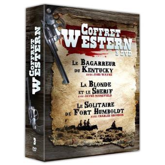 Western coffret 3 films DVD