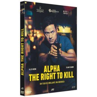 Alpha : The Right To Kill DVD