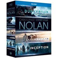 Coffret Inception Interstellar Dunkerque Blu-ray