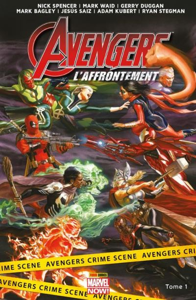 Avengers - L'affrontement T01 - Bienvenue à Pleasant Hill - 9782809471991 - 9,99 €