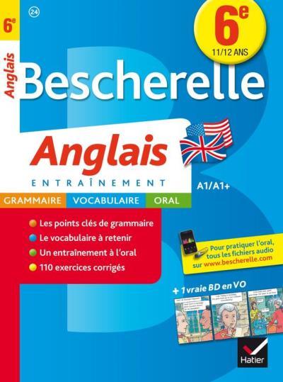 Bescherelle Anglais 6e - Cahier de révisions - 9782218996511 - 4,49 €