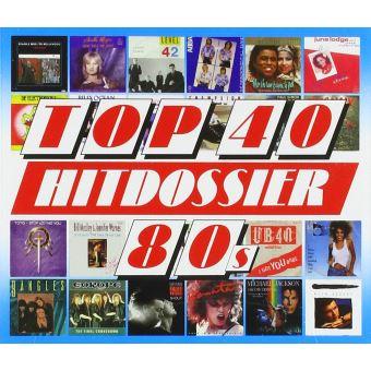 TOP 40 HITDOSSIER - 80S/5CD