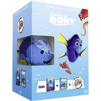 Le monde de DoryCoffret Le monde de Dory Le monde de Nemo DVD