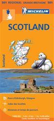 Carte Scotland Michelin