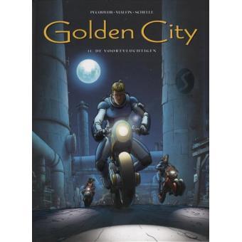 GOLDEN CITY,11:DE VOORTVLUCHTIGEN (HC)