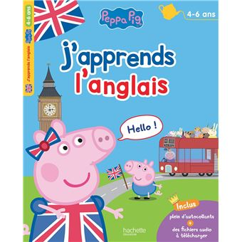 J'apprends l'anglais avec Peppa (3-5 ans)