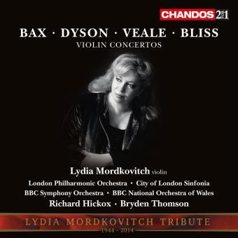 Britische Violinkonzerte