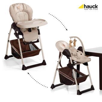 Chaise Haute Evolutive 2 En 1 Hauck Sit N Relax Bear