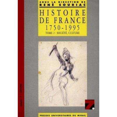 Histoire de france societe culture