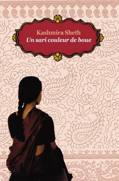 Un sari couleur de boue poche (ne)