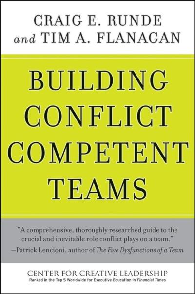 Building conflict competent teams