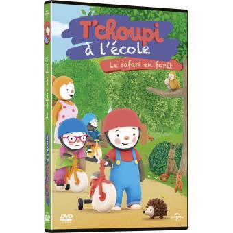 T 39 choupi l 39 cole le safari en for t dvd dvd zone 2 achat prix fnac - T choupi al ecole ...