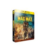 Mad Max : Fury Road Steelbook Combo Blu-ray + Blu-ray 3D + DVD