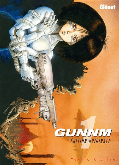 Gunnm - Édition originale - tome 1 - Gunnm Edition Originale